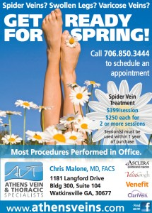 Athens Thoracic Specialist, thoracic procedure, thoracic surgery, spider veins, varicose veins